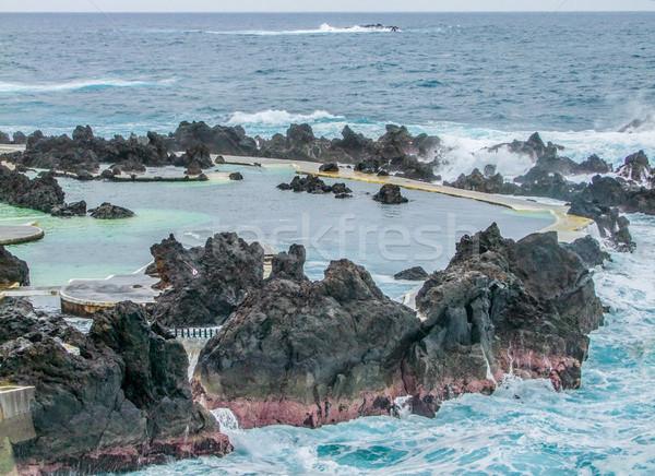 ストックフォト: 島 · マデイラ · 風景 · 自然 · 海 · 夏