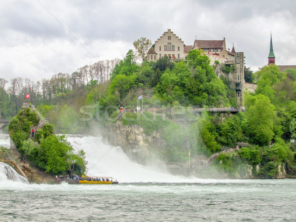 Rhine Falls in Switzerland Stock photo © prill