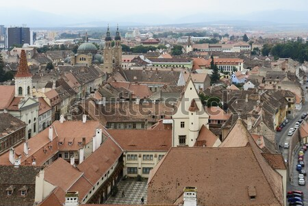Sibiu in Romania Stock photo © prill