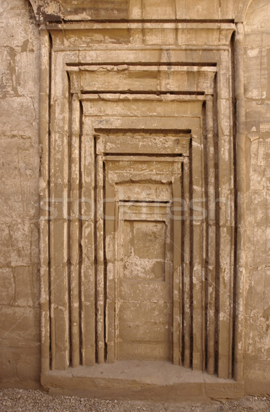 detail at Precinct of Amun-Re in Egypt Stock photo © prill