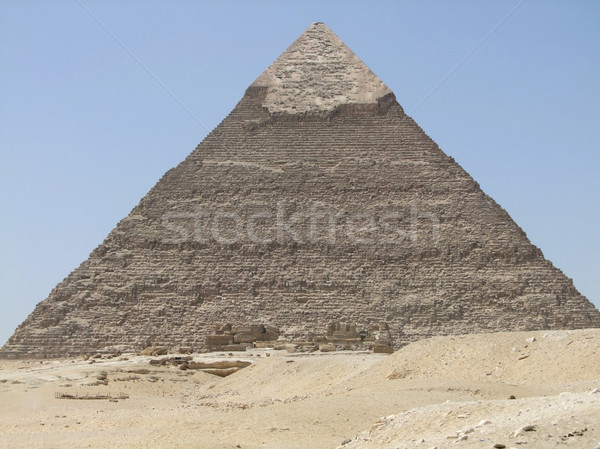 Pyramid of Khafre Stock photo © prill