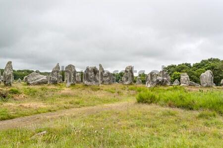 historic scottish graveyard Stock photo © prill