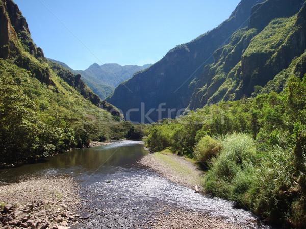 Andes scenery Stock photo © prill