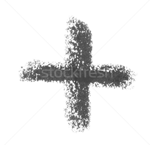 cross sketch Stock photo © prill