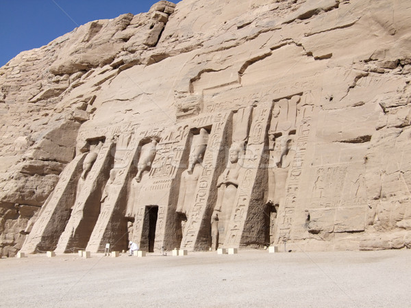 Great Temple of Abu Simbel Stock photo © prill