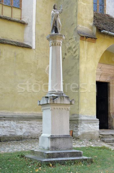 Stock photo: church of Biertan