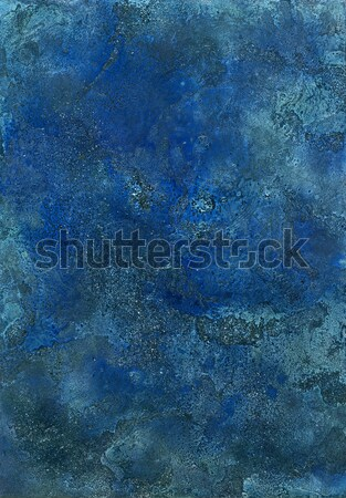 Abstract blu superficie foto verniciato me Foto d'archivio © prill