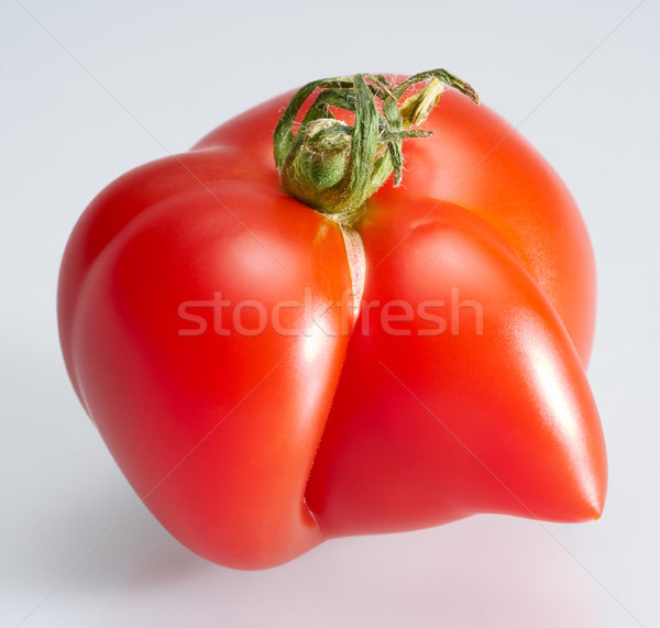 strange shaped tomato Stock photo © prill
