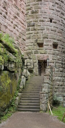 entrance at the Haut-Koenigsbourg Castle Stock photo © prill