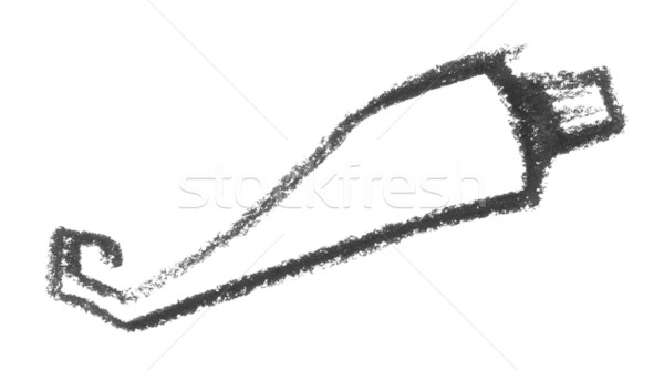 sketched tube Stock photo © prill