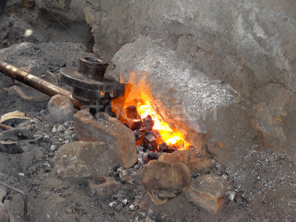 archaic forge Stock photo © prill
