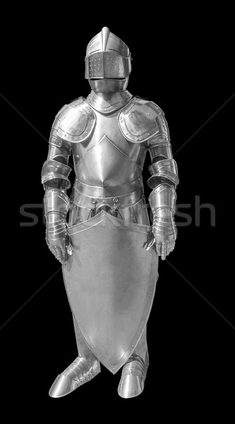 historic plate armour Stock photo © prill