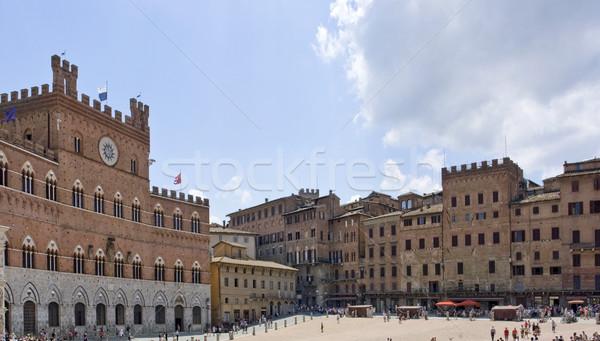 Palazzo Pubblico Stock photo © prill