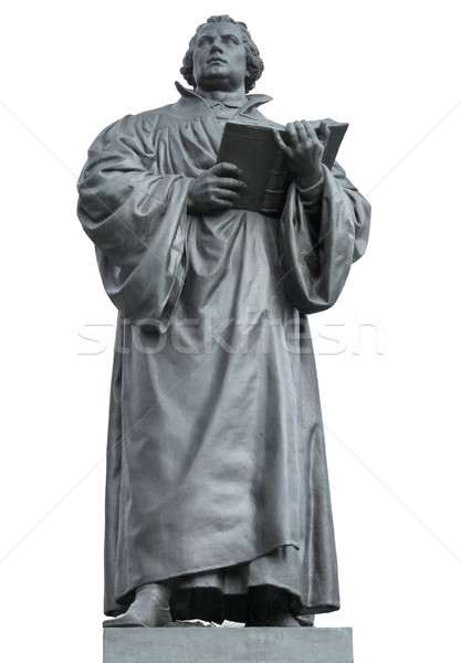 Martin Luther memorial Stock photo © prill