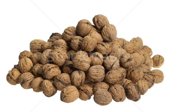 pile of walnuts Stock photo © prill