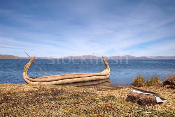 Lake Titicaca Stock photo © prill