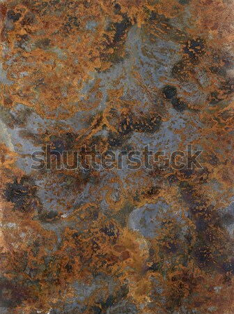 Corrosie full frame abstract me wereld industrie Stockfoto © prill