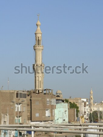minaret in Esna Stock photo © prill