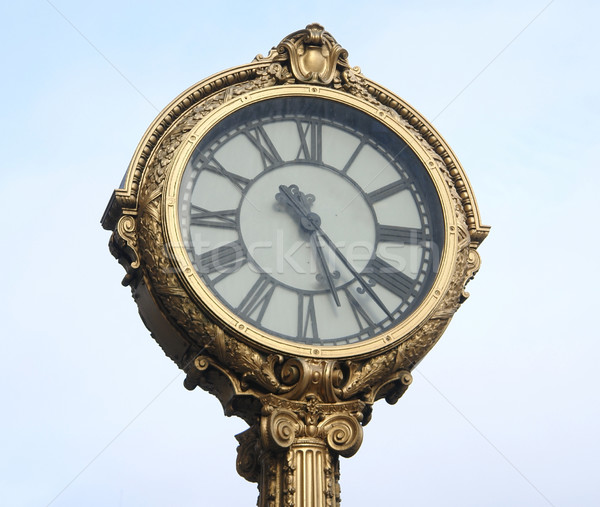 decorative nostalgic clock Stock photo © prill