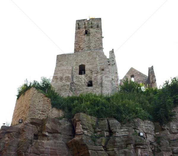 Kasteel rotsformatie shot zuidelijk Duitsland Stockfoto © prill