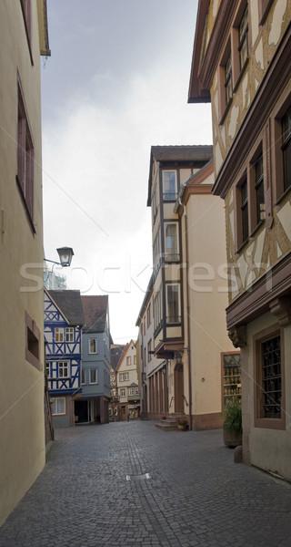Wertheim Old Town scenery Stock photo © prill
