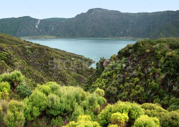 Stok fotoğraf: Manzara · ada · adalar · grup · kuzey