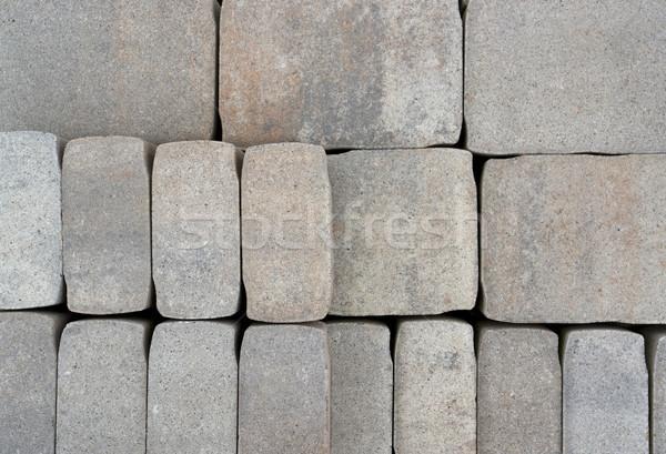 cobblestones Stock photo © prill