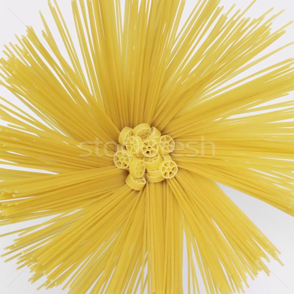 radial spaghetti and ruotine Stock photo © prill