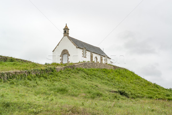 Saint-Michel tumulus Stock photo © prill