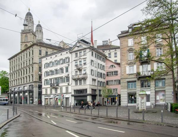 Zurique Suíça cidade casa Foto stock © prill