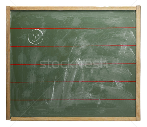 chalkboard and smiley Stock photo © prill