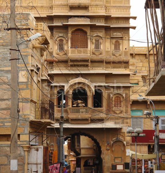 city view of Jaisalmer Stock photo © prill