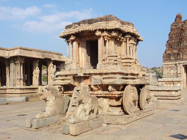Pedra biga templo centro em torno de Foto stock © prill