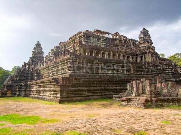 Templo Camboja cenário angkor edifício arte Foto stock © prill