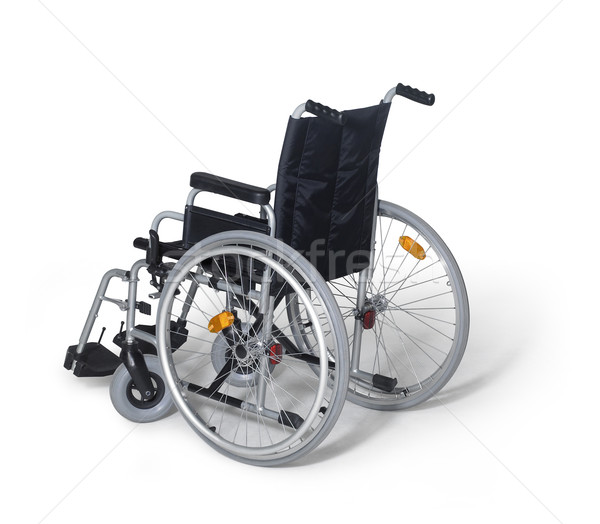 wheelchair in white back Stock photo © prill