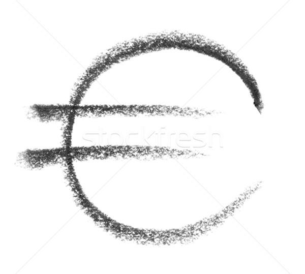 euro symbol sketch Stock photo © prill