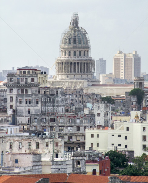 La Havane ville Cuba bâtiment architecture Photo stock © prill