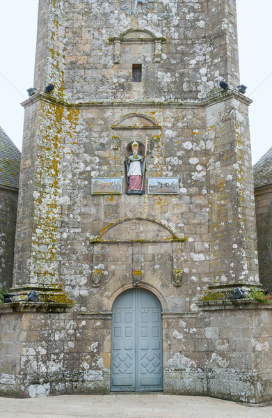church in Carnac Stock photo © prill