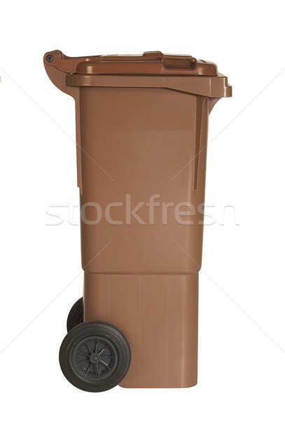 brown waste container Stock photo © prill