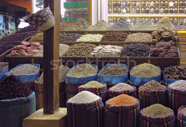 bazaar in Aswan Stock photo © prill