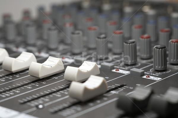 studio mixer detail Stock photo © prill