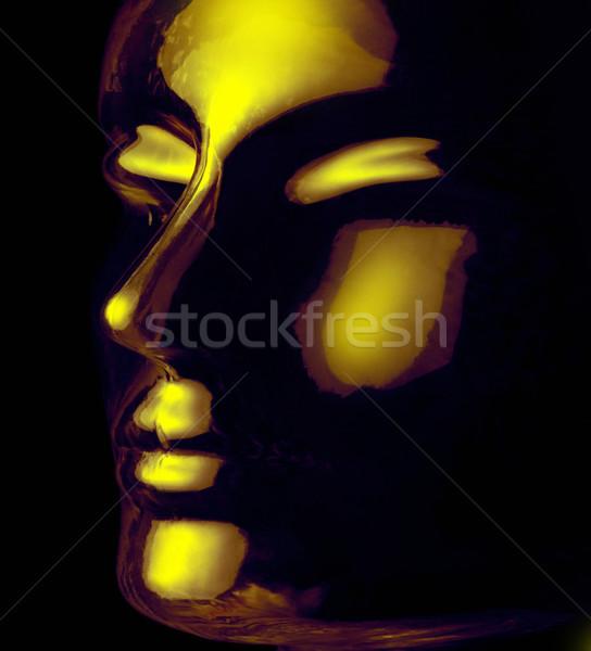 glass head Stock photo © prill