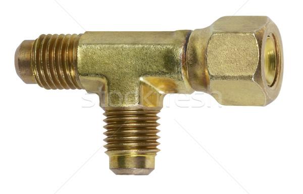 metallic adapter Stock photo © prill