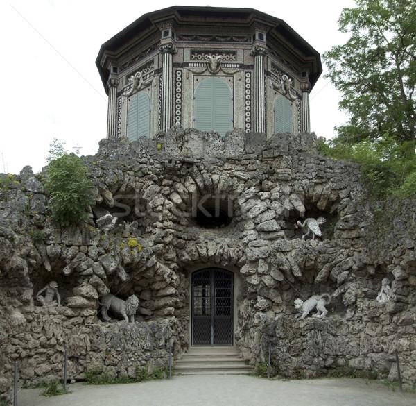 grotto in Veitshoechheim Stock photo © prill