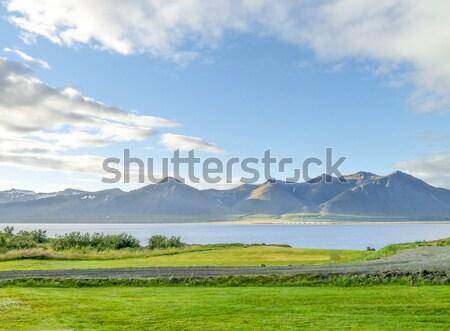 Természetes díszlet Izland víz természet hegy Stock fotó © prill