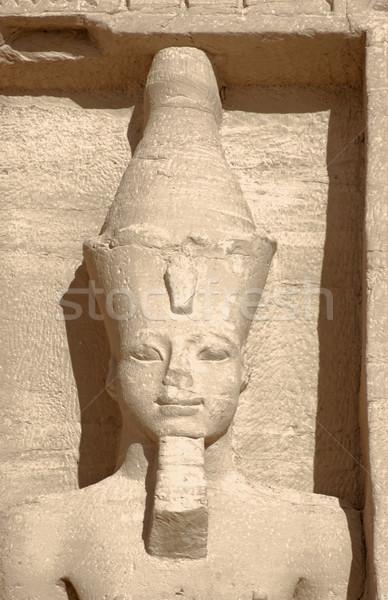 stone sculpture at Abu Simbel temples Stock photo © prill