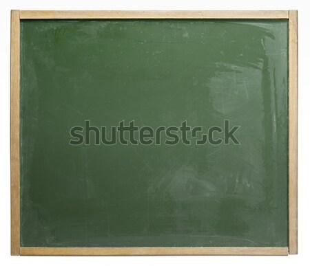 old used blackboard Stock photo © prill