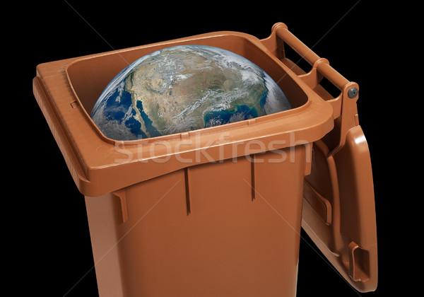 wasted globe Stock photo © prill