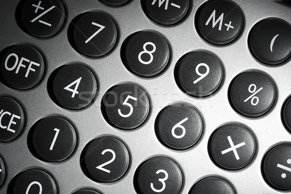 numerical pad detail Stock photo © prill