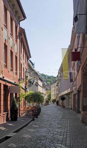 Freiburg im Breisgau street scenery Stock photo © prill